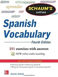 amazon com schaum s outline of spanish grammar 6th edition