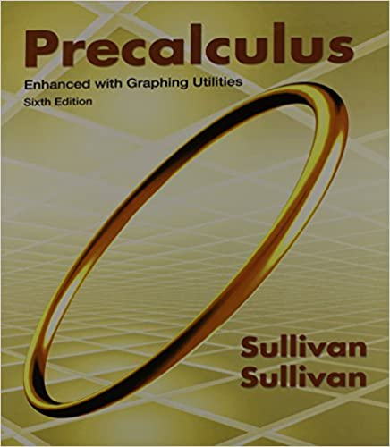 Precalculus Enhanced with Graphing Utilities Plus MathXL (6 months ...