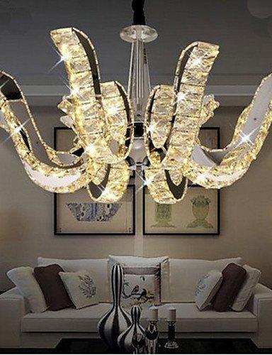 DXZMBDM® LED-Kristalllampe modernen Luxus Kerze hängende Kristalllampe , white-220-240v