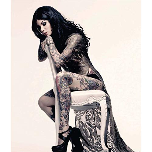 NOVELOVE Imagen de Arte de Pared Kat Von D Tattoo Star ...