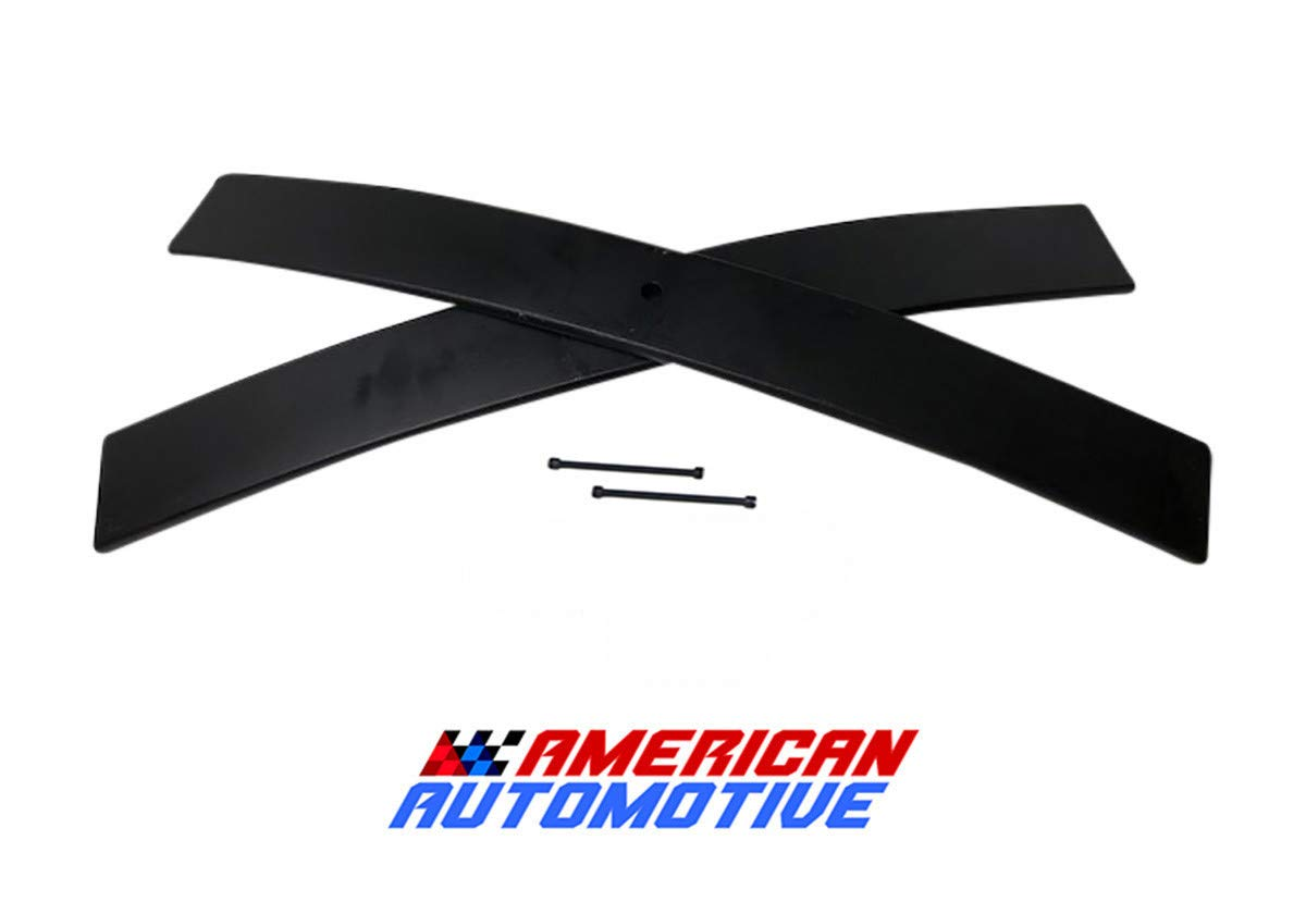 1995-2018 Nissan Xterra 2WD 4WD 1.5'-2' Rear Add-A-Leaf Carbon Suspension Leveling Lift Kit (Short) American Automotive
