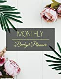 Monthly Budget Planner: Simple Floral Design Budget