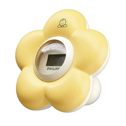 Philips AVENT SCH550 Termómetro digital - Termómetro de baño (Digital, Blanco, Amarillo,