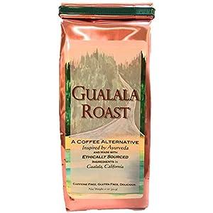 Ayurvedic Herbal Coffee Alternative / Substitute - Gualala Roast - Capomo (Maya Nut) | Ashwagandha | Chicory - Caffeine Free & Low Acidity - 11 Oz 89