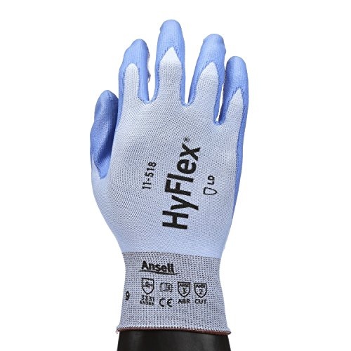 Ansell HyFlex 11-518 Light Duty Cut Resistant Gloves, Size 9 by Ansell (Image #5)