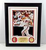 Highland Mint Mike Schmidt Photo with Game Used Bat Piece Coin Framed DA025110