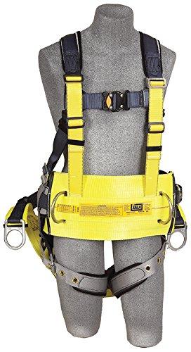 3m DBI-SALA Exofit 1100301espalda, anilla de extensión, D-Ring cinturón con almohadilla y parte posterior de asiento...