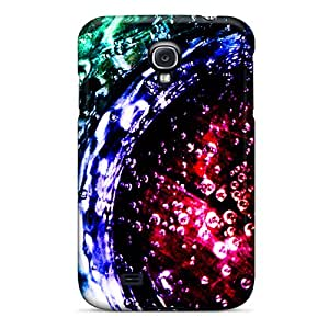 Defender Case For Galaxy S4, Layered Water Pattern