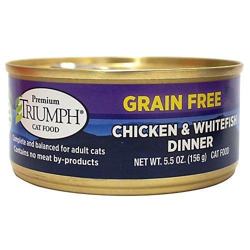 Triumph Grain Free Chicken Can Cat Food