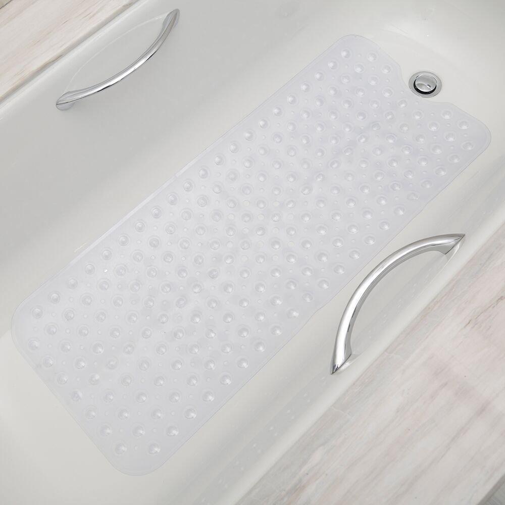 Unuber Non-Slip Bath Mat Blue
