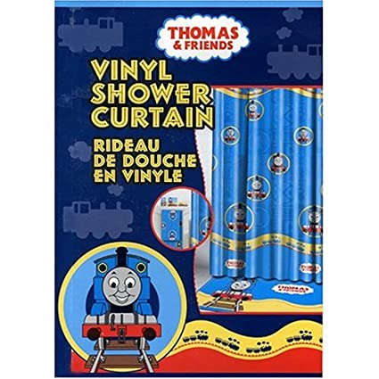 Amazon Thomas The Tank Engine Train And Friends Vinyl Shower