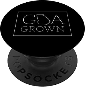 Georgia Modern GA State Grown Home Gift PopSockets Grip and Stand for Phones and Tablets