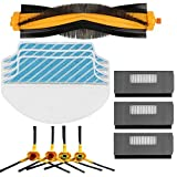 Electropan Replacement Ecovacs Accessory Kit for DEEBOT M80 M80 Pro Robotic Vacuum Cleaner Brush Filter Mop Cloths for Ecovacs Deebot DT85 DT83 DM81 DM85