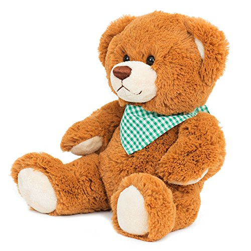 (Clemens Bears Teddy Bear Enrico Premium Plush Fabric & European Safety Tested (Auburn). A Delightful, Soft, Cuddly Teddy Bear from Clemens-Spieltiere of Germany. Looking for a Loving)