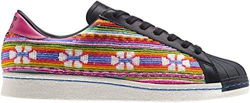 Adidas Superstar 80s pioneros Pharrel para hombre de las zapatillas de deporte de moda-B25965 Multi