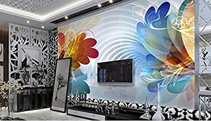 LWCX Custom 3D Photo Wall Mural Wallpapers For Living Room Trend Pattern Tv Background Wallpaper