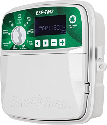 Rain Bird ESP-TM2 Irrigation Controller (WiFi Module Not Included) / 4 Zones RainBird TM2-4