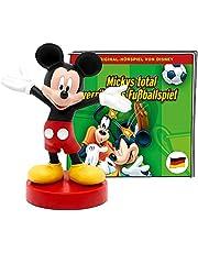 tonies Luisterfiguren voor Toniebox, Disney – Mickys totaal gek voetbalspel, Micky Mouse hoorspel voor kinderen vanaf 4 jaar, speeltijd ca. 60 minuten