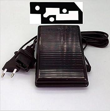 Honeysew YC-420-U con cable YDK-BPP-345 - Pedal para máquina de coser Singer, 3 clavijas: Amazon.es: Hogar