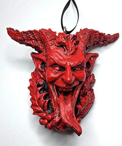 Krampus Head Ornament