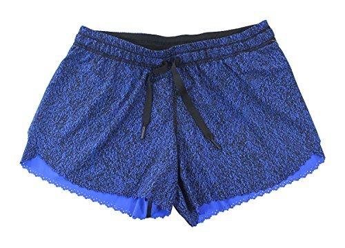 Lululemon Circuit Cerulean Blue Black Hit It Short