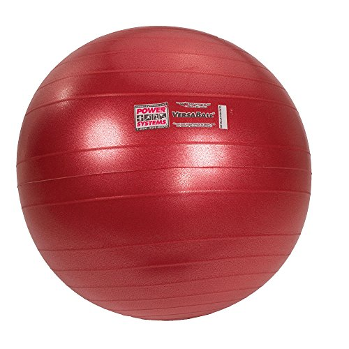 Power Systems VersaBall Stability Ball, 55cm, Calypso Berry (80015)