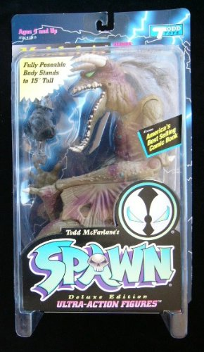 McFarlane Toys Spawn Series 2 Malebolgia Action Figure (Pale Green) 15 Inches Series 2 Spawn Mcfarlane Toy