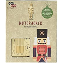Incredibuilds Holiday Collection Nutcracker 3D Wood Model