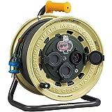 ハタヤ(HATAYA) サンタイガーレインボーリール 屋外用 漏電遮断器付 接地付 3.5平方mm極太電線仕様 30m BX-331K
