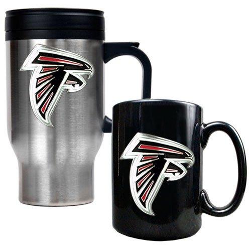 Atlanta Falcons Ceramic (NFL Atlanta Falcons Travel Mug & Ceramic Mug Set - Primary)