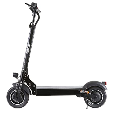 NANROBOT D4+ High Speed Electric Scooter-10 inch Tires,2000W Motor Power Allow for of 40 MPH Speed,45 Miles Range and 330lb Load