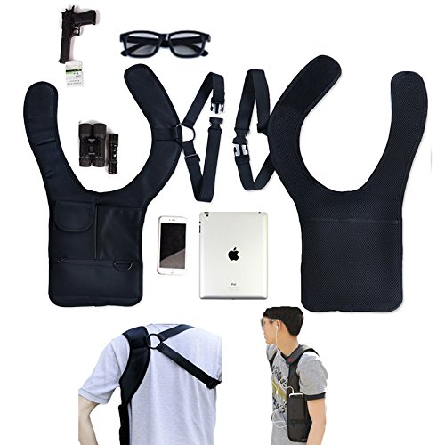Generico sicurezza antifurto nascosto ascellare spalla Fbi telefono cellulare della borsa portafoglio tasca chiave borsa borsa di stoccaggio per borse da viaggio