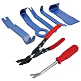 Youfui 7pcs Auto Trim Removal Tool, Clip Pliers, Fastener Remover Set