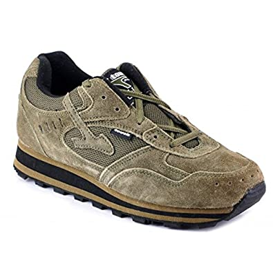 ac984d1067 Lakhani Touch 095 Men's Olive Synthetic Sport Shoes -Size 9: Buy ...