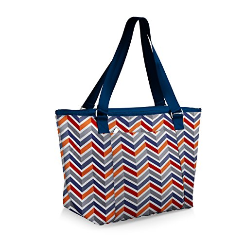 Picnic Time Hermosa Insulated Tote Bag, Vibe Collection Microfiber Two Pocket Tote