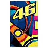 Valentino Rossi VR46 Moto GP Sun & Moon Beach Towel Official 2018