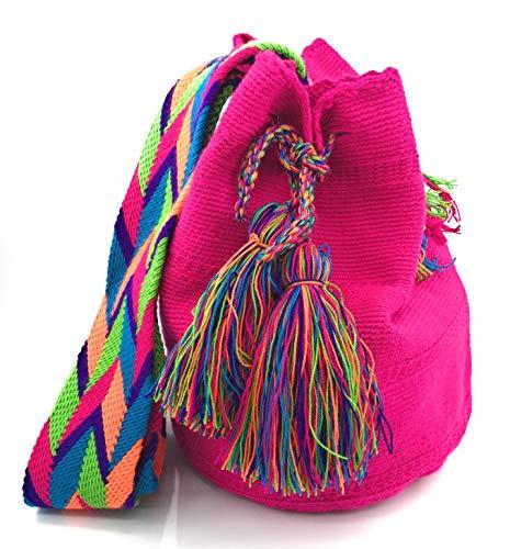 Ochoa para Wayuu COLOMBIAN mochilas Artesanales hombre STYLE Los tanto como mujer Bolsos para Colombianos qqxOv6