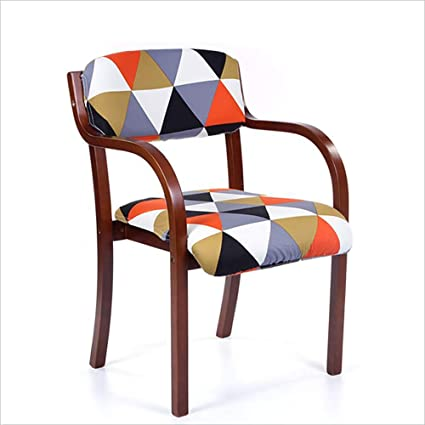 Image Unavailable & Amazon.com - FU CHAIR Modern Casual Dining Chair Curved Craft ...