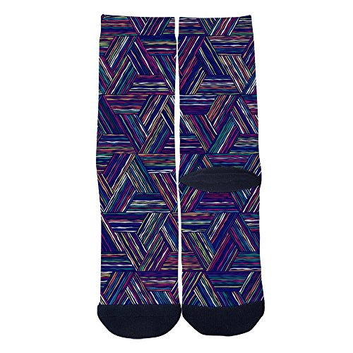 Dihaodedia Desktop Wallpaper Socks Mens Womens Multi Performance 3D Print Custom Crew Socks - Print Top Graffiti Performance
