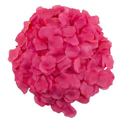 Adorox 1000pcs Rose Petals Artificial Flower Wedding Party