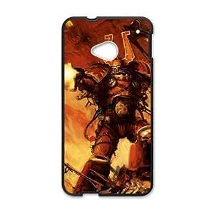 HTC One M7 Cell Phone Case Black world eater warhammer 40 000 Popular games image WOK1043633