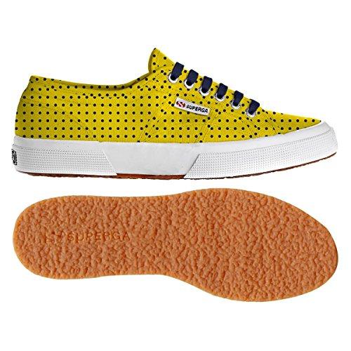 Superga 2750 Giallo Donna Cotu Fantasy Sneaker Rzrv1wqpR