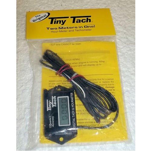 B_NE Tiny Tach Digital Tachometer and Hour Meter #TT2B by B_NE