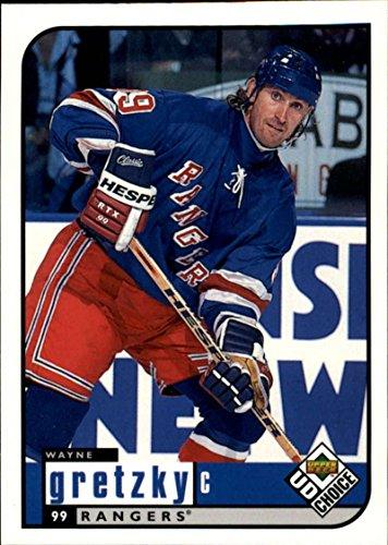 1998-99 Upper Deck Collector's Choice New York Rangers Team Set 15 cards Wayne Gretzky 4 diff