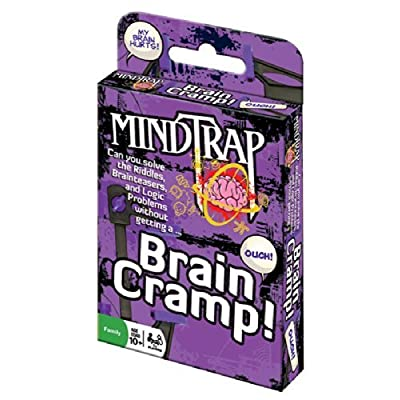 Outset Media Cobble Hill Mindtrap Brain Cramp Game (1 Piece): Toys & Games