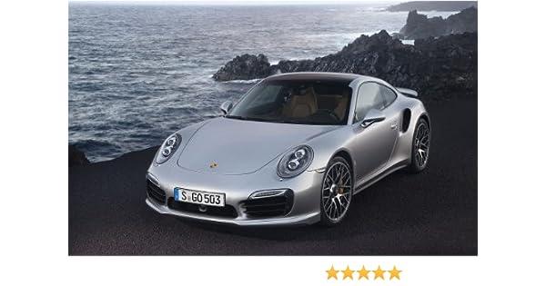 Amazon.com: 2014 Porsche 911 Turbo S 11X17 Photo Banner Poster: Posters & Prints