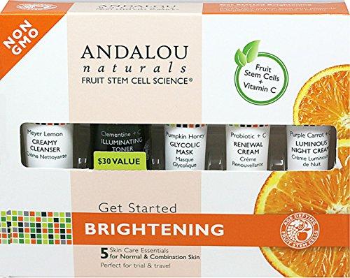 - Andalou Naturals Kit Brightening Get Start