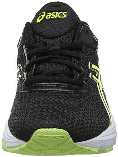 Asics Gt-1000 6 GS, Zapatillas de Running Para Niños Negro (Black/safety Yellow/white 9007)