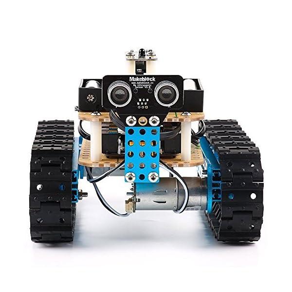 Makeblock DIY Starter Robot kit - Premium Quality - STEM Education -  Arduino - Scratch 2 0 - Programmable Robot Kit for Kids to Learn Coding,  Robotics
