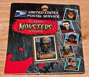United States Postal Service Classic Universal Monsters Stamps Mummy Pin (United Stamps Postal)